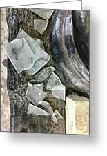 Scene In St. Augustine  Greeting Card