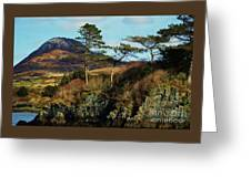 Scenery Captured In Connemara Greeting Card