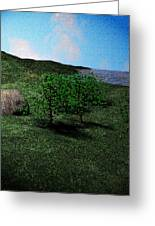 Scenery Greeting Card by James Barnes