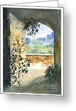 Scenes Of Sicily, I Greeting Card