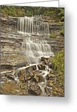 Scenic Alger Falls  Greeting Card