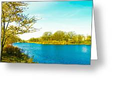 Scenic Branch Brook Park Greeting Card