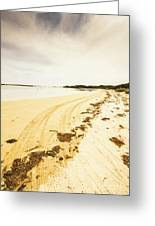 Scenic Coastal Calm Greeting Card