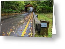 Scenic Drive 1 Greeting Card