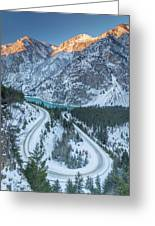 Scenic Drive Greeting Card