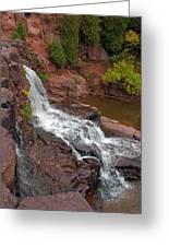 Scenic Gooseberry Falls Greeting Card