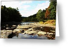 Scenic River Greeting Card