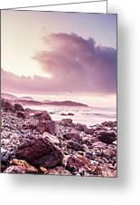 Scenic Seaside Sunrise Greeting Card