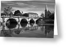 Scenic Shrewsbury Greeting Card