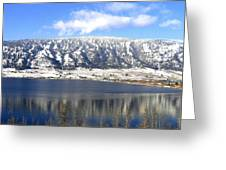 Scenic Wood Lake Greeting Card