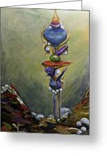 Scepter Of Destiny Greeting Card