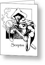 Sceptre Greeting Card