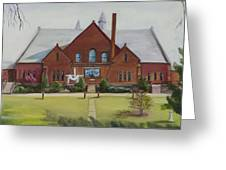 Schaeffer Center  Ally View Frederick Md Greeting Card