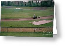 Schalke 04 - Glueckauf-kampfbahn - East Side - April 1997 Greeting Card