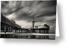 Scheveningen Pier 2 Greeting Card