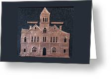 Schley County, Georgia Courthouse Greeting Card
