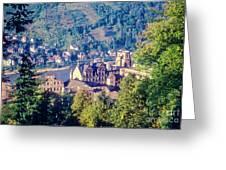 Schloss Heidelberg Greeting Card
