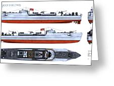 Schnellboot S100 Greeting Card