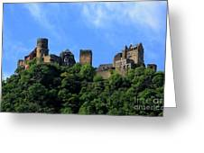 Schoenburg Castle Oberwesel Germany Greeting Card