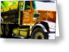 Schoenecker Trucking Greeting Card