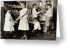 School Store, 1917 Greeting Card