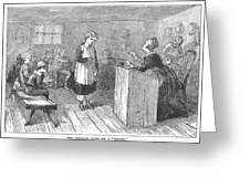 Schoolhouse, 1877 Greeting Card by Granger