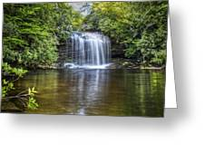 Schoolhouse Falls Greeting Card
