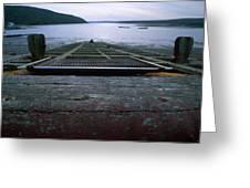 Schooner Bay - Point Reyes National Seashore Greeting Card