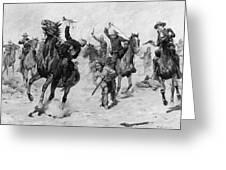 Schreyvogel: Attack, 1905 Greeting Card