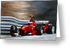 Schumacher Monaco Greeting Card