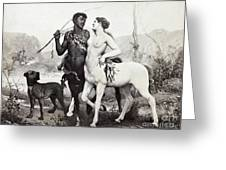 Schutzenberger Centaurs Greeting Card