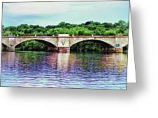 Schuylkill River Greeting Card
