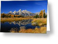 Schwabacher Landing Panorama Greeting Card
