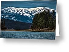 Schweitzer Mountain Resort Greeting Card