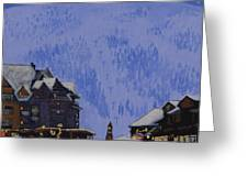 Schweitzer Nights Greeting Card