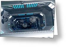 Science Fiction Corridor - Spaceballs Greeting Card