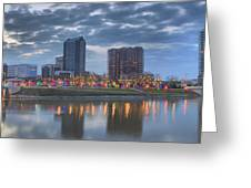 Scioto Morning 3567 Greeting Card by Brian Gryphon