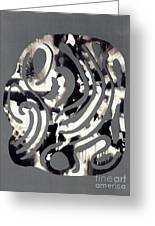Scissor-cut Abstraction Greeting Card