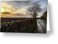 Scotland At Sunset Greeting Card