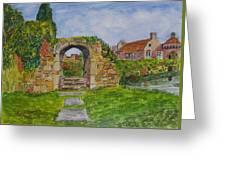 Scotney Castle Lamberhurst Kent Greeting Card