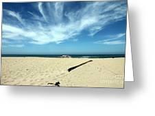 Scott Creek Beach California Usa Greeting Card