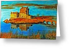 Scottish Autumn Greeting Card