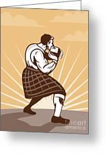 Scottish Games Greeting Card