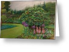 Scottish Garden Greeting Card