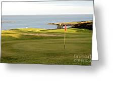 Scottish Golf Greeting Card