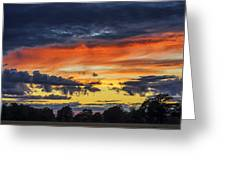 Scottish Sunset Greeting Card