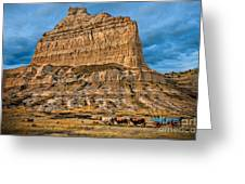 Scotts Bluff National Monument Greeting Card
