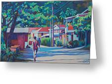Scottshead Village Greeting Card
