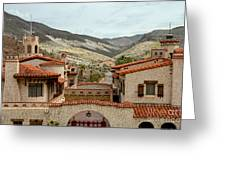 Scotty's Castle Greeting Card