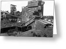 Scranton Pennsylvania Coal Mining - C 1905 Greeting Card